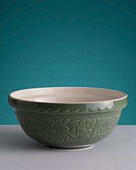 In the Forest Green Mixing Bowl