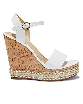 Cork Wedges Sandals Standard Fit