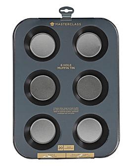 MasterClass Non-Stick 6-Hole Muffin Tin