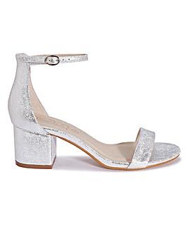 Block Heel Sandal Standard Fit