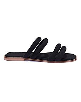 Square Toe Sandal Standard Fit