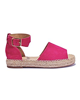 Two Part Espadrille Standard Fit