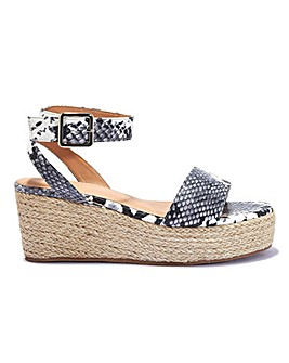 Espadrille Wedge Standard Fit