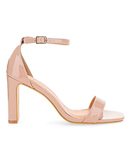 Flo Slim Heel Heel Barely There Wide Fit