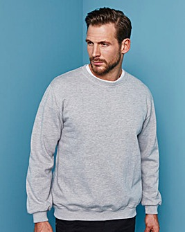 Capsule Grey Crew Neck Sweatshirt Long