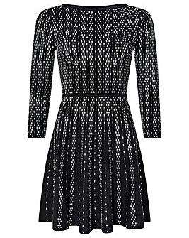 Monsoon Faye Fit & Flare Dress