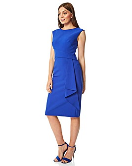 Roman Ruched Waist Cocktail Dress