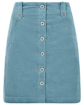 Monsoon Jessica Jumbo Cord Skirt
