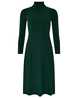 Monsoon Tessa Fit & Flare Knitted Dress