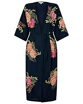 Monsoon Colleen Floral  Kimono