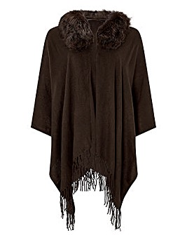 Monsoon Fia Faux Fur Wrap