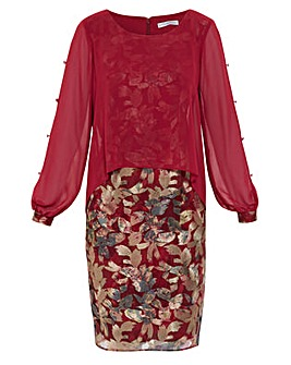 Gina Bacconi Gianina Embroidery Dress