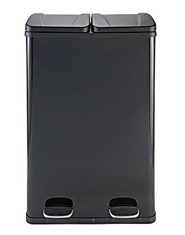 60 Litre 2 Compartment Recycling Bin