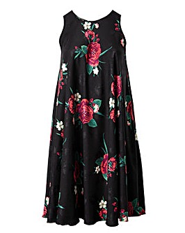Lovedrobe GB Floral Swing Dress