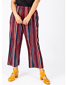 Lovedrobe GB Stripe Plisse Trousers