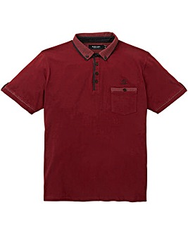 Black Label Spot Trim Polo Regular