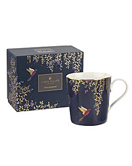 Sara Miller London Mug - Navy