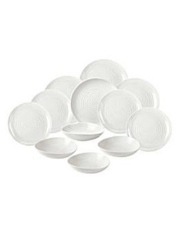 Sophie Conran 12 Piece Coupe Dinner Set
