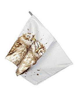 Wrendale Owl Tea Towel