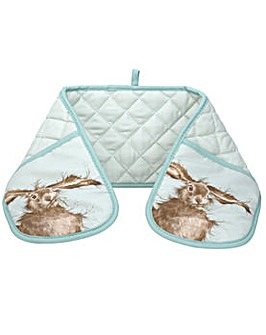 Wrendale Hare Double Oven Glove
