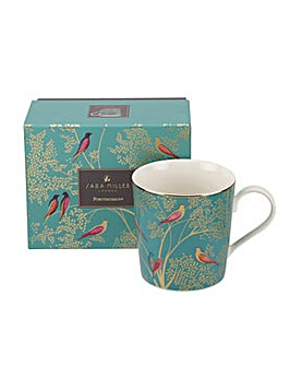 Sara Miller London Mug - Dark Green