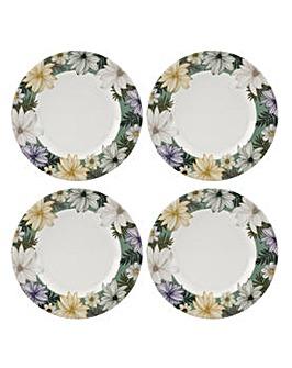 Portmeirion Atrium 8.75 Inch Plates x 4