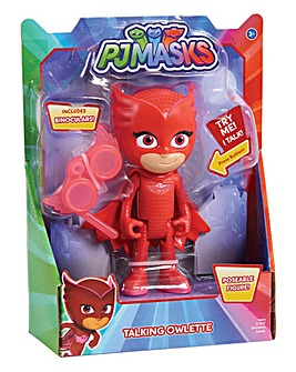 PJ Masks Deluxe Talking Figure - Owlette