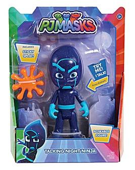 PJ Masks Dlx Talking Figure-Night Ninja