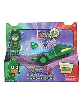 PJ Masks Space Rover & Figure - Gekko