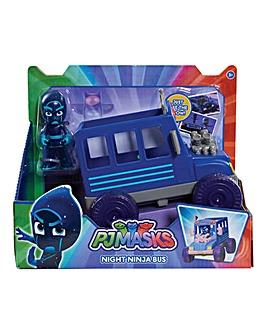 PJ Masks Vehicle & Figure-Night Ninja