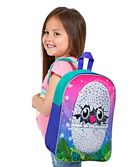 Hatchimals Embroiderd Plush Backpack