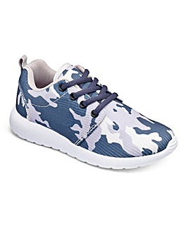 KD Go Camo Print Trainers Standard Fit