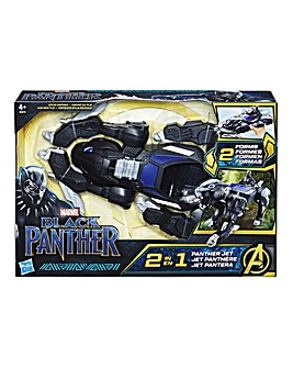 Marvel Black Panther 2-in-1 Panther Jet