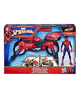 Marvel Spider-Man 3-in-1 Spider Cycle