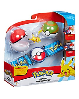 Pokemon Clip 'N Go Poke Ball Belt Set