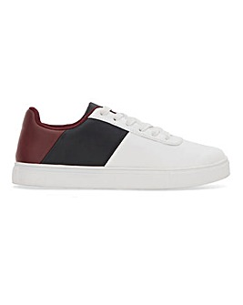 Panel Lace Up Trainer