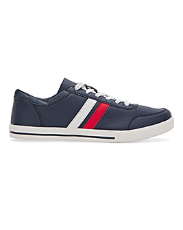 Stripe Lace Up Trainer