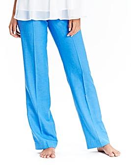 JOANNA HOPE Linen Blend Trousers 31in