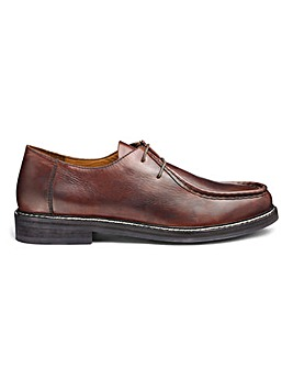 Jacamo Piped Seam Derby Shoe Standard Fit