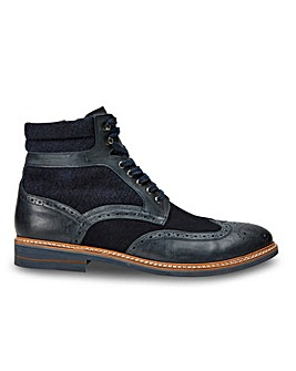 Joe Browns Leather Brogue Boots