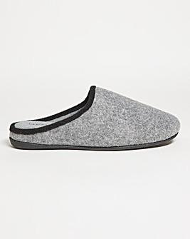 Comfort Felt Mule Slipper