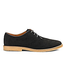 Luke Lace Up Derby Shoe Wide Fit