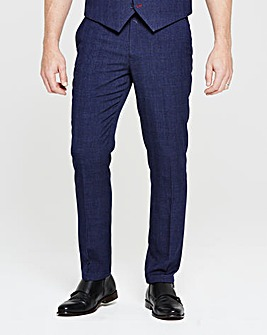 Flintoff By Jacamo Slim Suit Trousers R