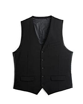 Jacamo Slim Black Waistcoat