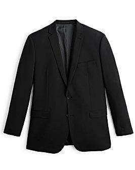 Jacamo Black Slim Stretch Suit Jacket Short
