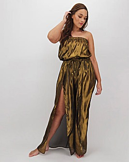 Joanna Hope Metallic Jumpsuit