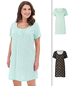 Pretty Secrets Pk 2 Nighties