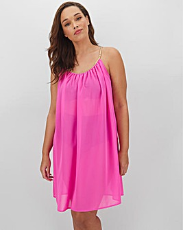 Knotted Strap Beach Dress