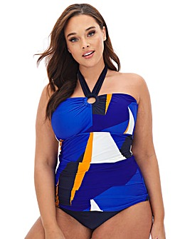 Joanna Hope Geo Print Tankini Set