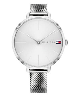 Tommy Hilfiger Ladies Flag Mesh Watch